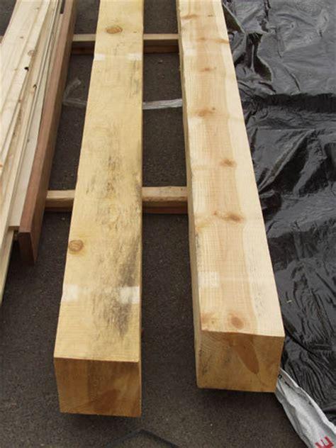 bear creek lumber ponderosa pine post  beam rough cut