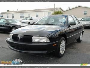 1997 Oldsmobile Achieva Sl Sedan Black    Graphite Photo  5
