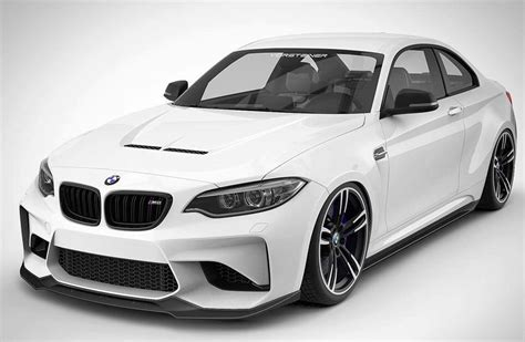 Who Makes Bmw by Vorsteiner Makes Bmw M2 Coupe More Menacing With The New