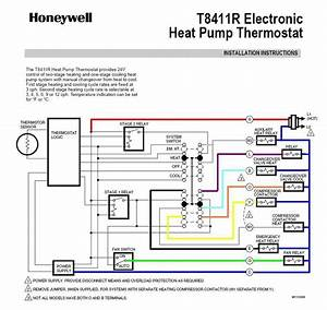 7 Best Images Of Heat And Air Thermostat Diagram