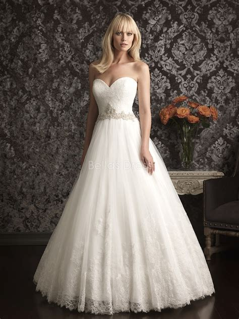 Charming Princess Wedding Dresses With Lace For Luxurious