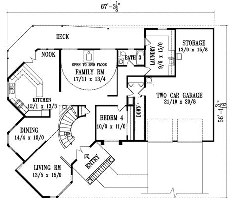 kitchen design blueprints european style house plan 4 beds 4 00 baths 3358 sq ft 1108