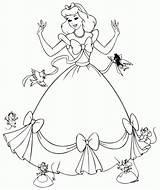 Coloring Dresses sketch template