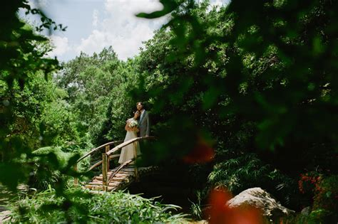 the gallery for gt zilker botanical garden wedding
