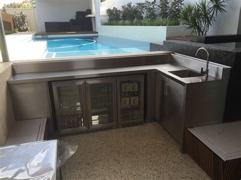 outdoor kitchen cabinets perth sheet metal fabrication perth stainless steel 3839