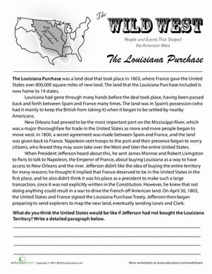 history of the louisiana purchase in 2018 homeschool