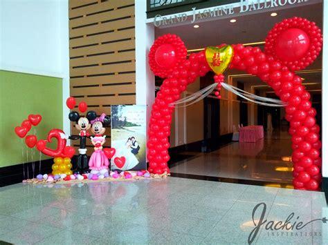 Mickey And Minnie Balloon Decorations - mickey and minnie wedding decorations balloon