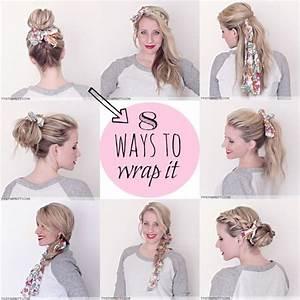 Comment Attacher Ses Cheveux : comment se coiffer avec un foulard ~ Melissatoandfro.com Idées de Décoration