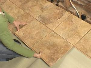 How to install snap together tile flooring how tos diy for Wood floor snap lock