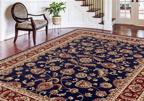blue rug ebay navy blue traditional bordered area rug multi