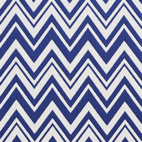 Zig Zag Upholstery Fabric by Navy And White Zig Zag Chevron Upholstery Fabric By The Yard