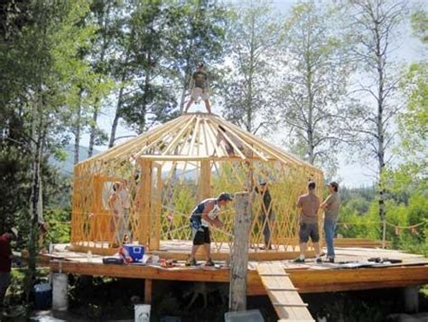Member Spotlight Need A Yurt? Visit Shelter Designs Llc