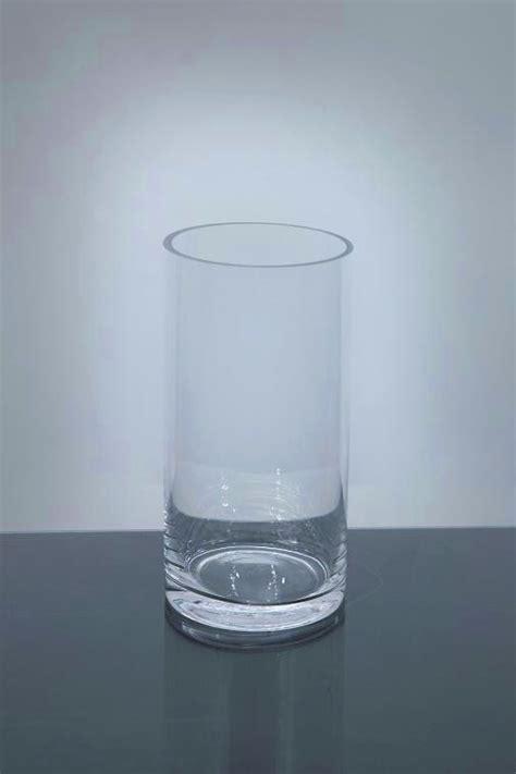 cylinder glass vases pc3 5 7 cylinder glass vase 3 5 quot x 7 quot 12 p c cylinder