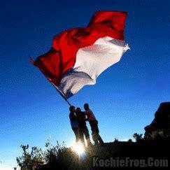 kumpulan animasi bendera merah putih