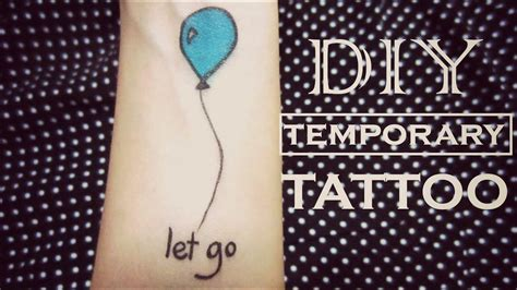 diy temporary tattoo   youtube