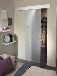 comment choisir sa porte coulissante leroy merlin With porte de douche coulissante avec meuble salle de bain laqué noir