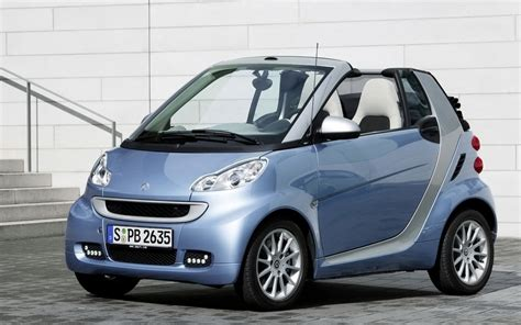 Top Cars Zone Smart Fortwo Passion Cabrio Car Wallpapers
