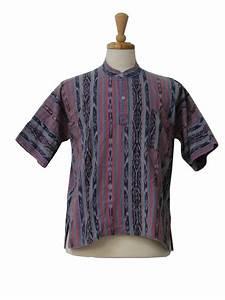 no label 1970s Vintage Hippie Shirt: 70s -no label- Mens ...