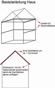 Haus Bauen Anleitung : bastelanleitung haus aus holz puppenhaus spielhaus ~ Markanthonyermac.com Haus und Dekorationen