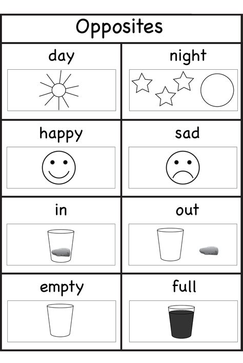 worksheets for 5 years old kids activity shelter