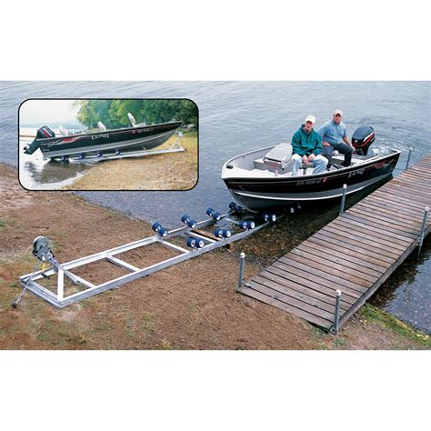 Dry Docker Boat Lifts Docks by Roll N Go 174 Model 2000 18 Ft Boat Docking R