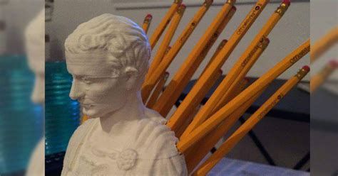 This Julius Caesar Pencil Holder Is Really Quite Brilliant