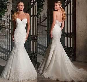 48 wow evoking mermaid wedding dresses to make him fall With tight mermaid wedding dress