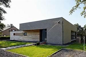 ophreycom maison moderne bois brique prelevement d With maison brique et bois