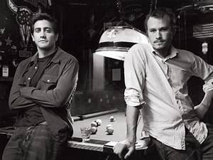Heath Ledger & Jake Gyllenhaal | Heath Ledger | Pinterest ...