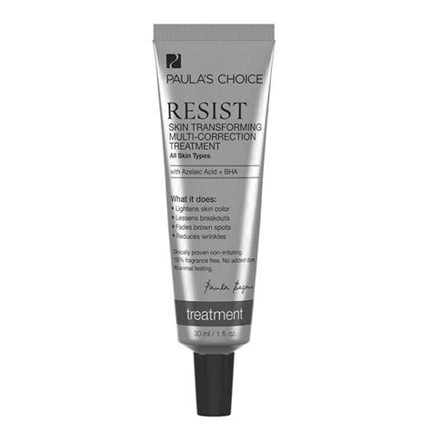 paulas choice resist skin transforming multi correction treatment