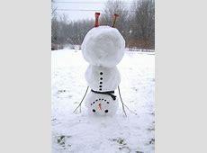 Wer will einen coolen Schneemann bauen? Archzinenet