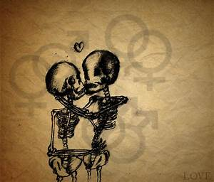 skeleton love by Evalisious8D on deviantART