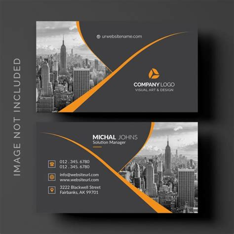 black business card template     pngtree