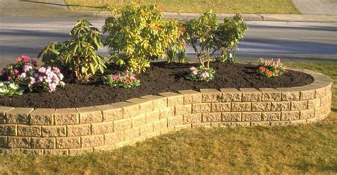 unilock stack retaining walls photos baron landscaping northeast ohio