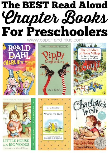 great chapter books for preschoolers what can we do with 199 | Best Chapter Books
