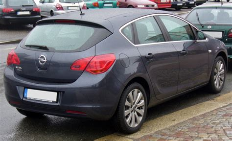 Opel Astra J by File Opel Astra J Heck Jpg