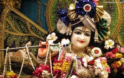 Krishna 3d Wallpapers Iskcon Bhagwan Wallpapersafari Radha