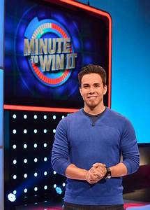 Apolo Ohno, the new host of Minute to Win It on GSN...now ...