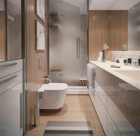modern minimalist apartment bathroom interior design