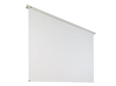 roll projector screen projection screens mobile permanently installed or 1132