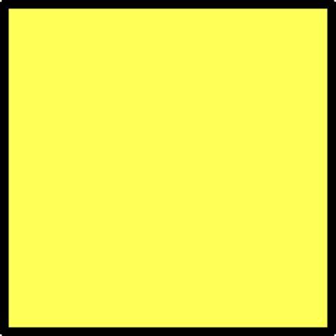 Yellow Square Yellow Square 2 Clip Art At Clker Com Vector Clip Art