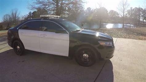 west tn  police interceptor ford taurus car