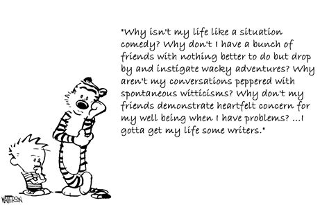 Famous Quotes About 'calvin And Hobbes'