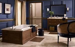Salle De Bain Couleur Bois : peinture salle de bain 80 photos qui vont vous faire craquer ~ Zukunftsfamilie.com Idées de Décoration
