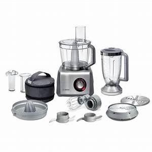 Robot Cuisine Multifonction : bosch mcm68840 robot multifonction gris achat vente ~ Farleysfitness.com Idées de Décoration