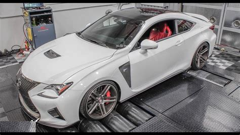 lexus rc  hp nitrous powered rcf dyno  youtube