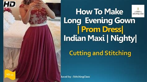 Boat Neck Gown Cutting by Gown Cutting And Stitching Prom Dresses Indian