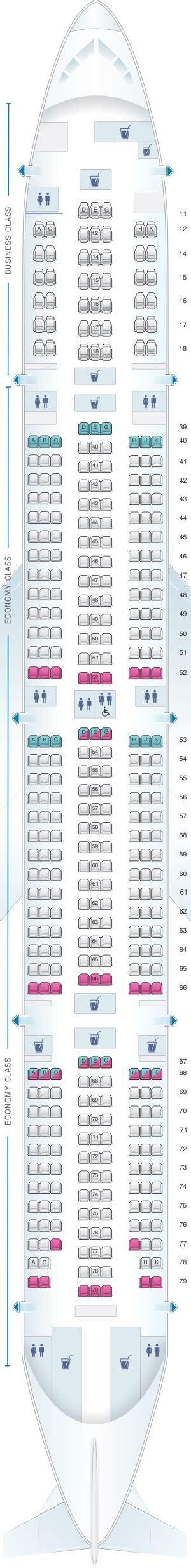 siege boeing 777 plan de cabine cathay pacific airways boeing b777 300 773