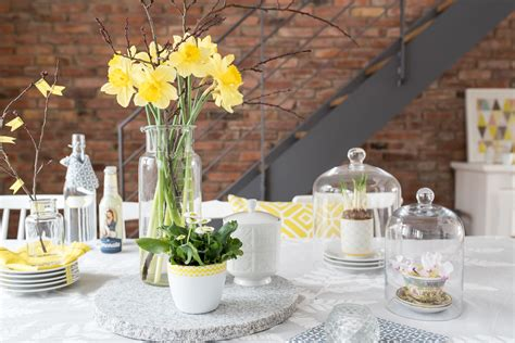 Frühlingsdeko Für Den Garten by Fr 252 Hlingsdeko Mit Jeder Menge Gelb Leelah