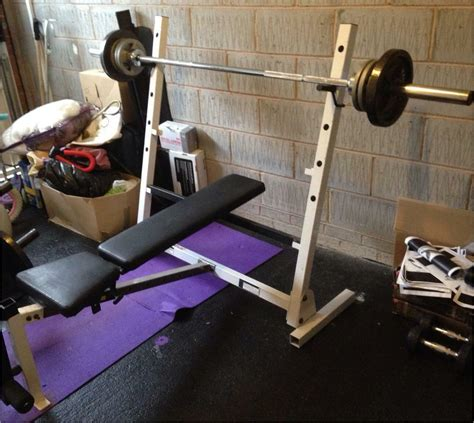 Bench Press At Home by Olympic Bench Press Without Barbell Home
